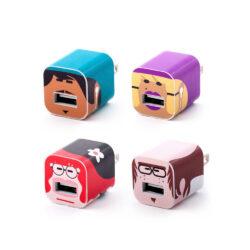 Merkimiðar WHOOZ characters